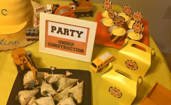 Construction bday party 2