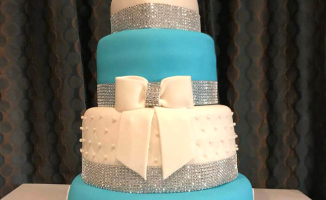 Tiffany Cake – 60th birday cake