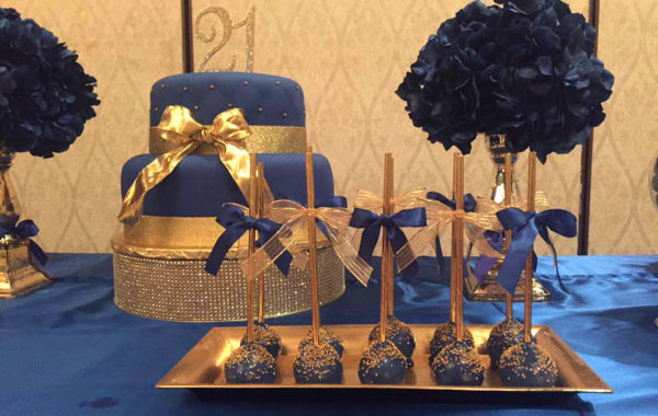 21st Birthday – Royal Blue